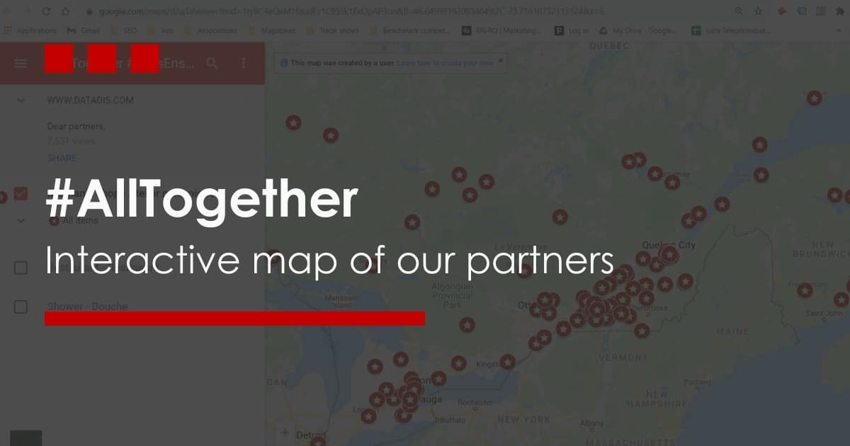 All Together Interactive Map