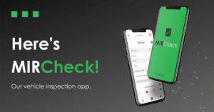 DataDis - MIRCheck launch - Vehicle inspection app