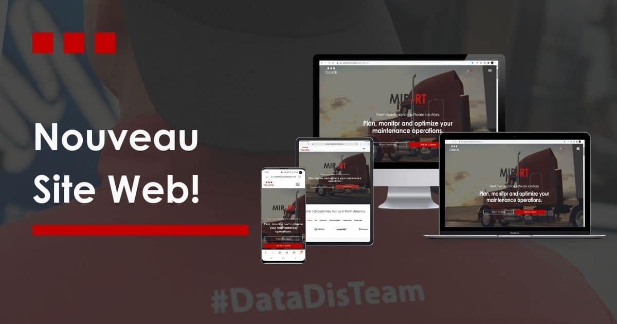 Lancement nouveau site web DataDis