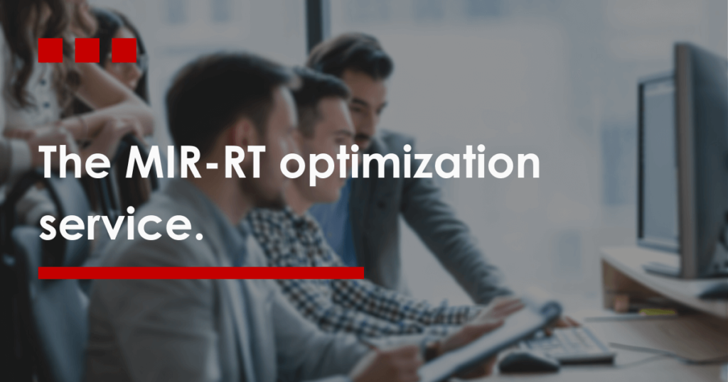 The MIR-RT optimization service