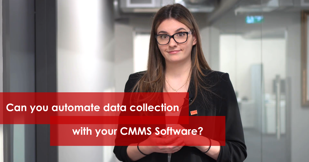 Can you automate data collection with your CMMS Software