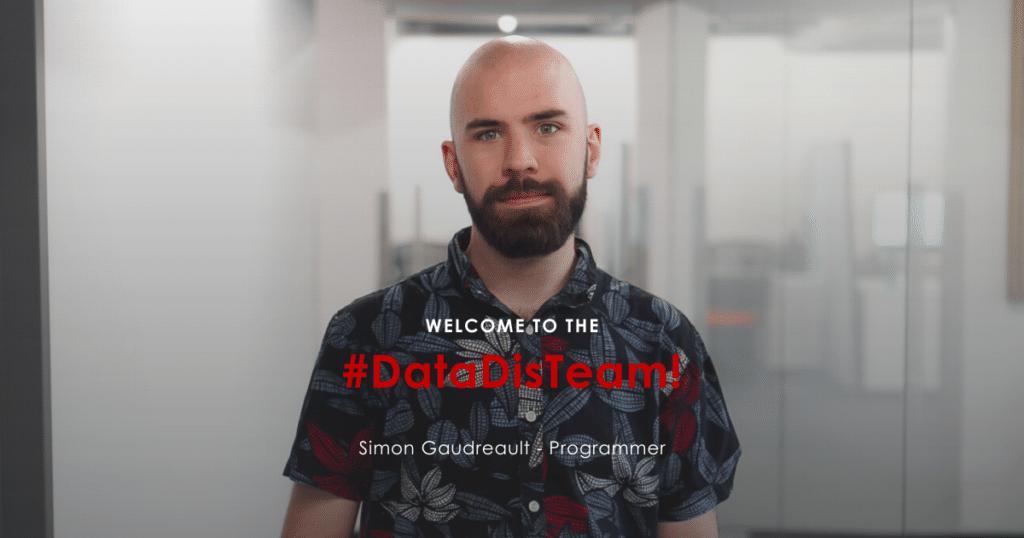 Simon Gaudreau - Programmer at DataDis