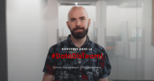 Simon Gaudreau - Programmeur chez DataDis