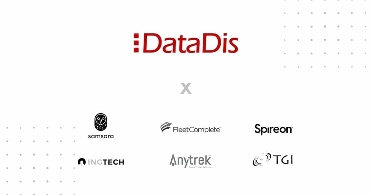 DataDis Announcement - New Telematics and Trailer Tracking Partners